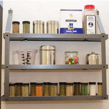 Awesome Door Mounted Spice Racks, Wall Mounted Spice Racks