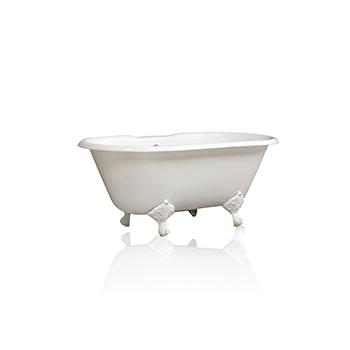 White Bathtub, Angled View