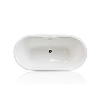 White Bathtub, Top View