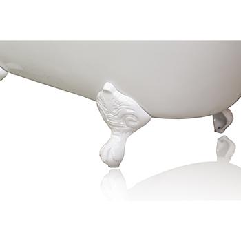 White Bathtub, Clawfoot
