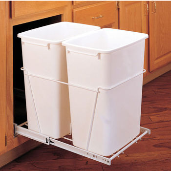 Double Pull-Out Waste Containers