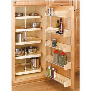 5-Shelf D-Shaped Pantry Set