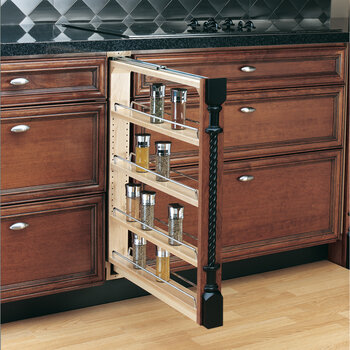 Cabinet Organizers - Kitchen Base Cabinet Fillers with Pull ...