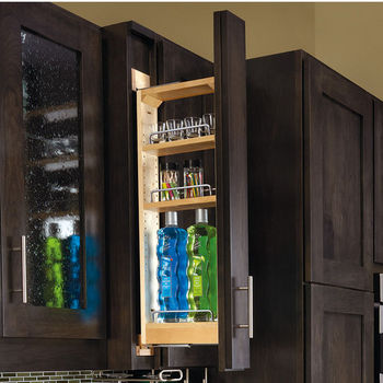 Wall Filler Pull-Out Shelf