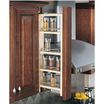 Rev A Shelf Kitchen Wall Cabinet Filler Pull Out Organizers 3 And 6