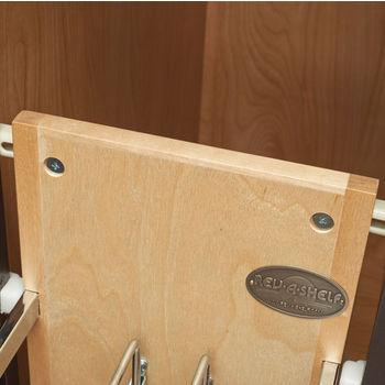 Rev-A-Shelf Foil Wrap Holder/Tray Divider with Ball-Bearing Soft-Close Slides