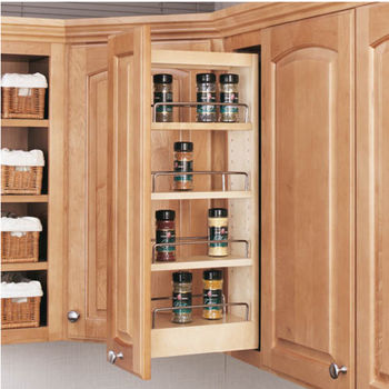 Tall Pull-Out Cabinet Organizer