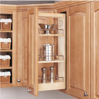 Rev-A-Shelf Kitchen Upper Cabinet Pull-Out Organizer ...
