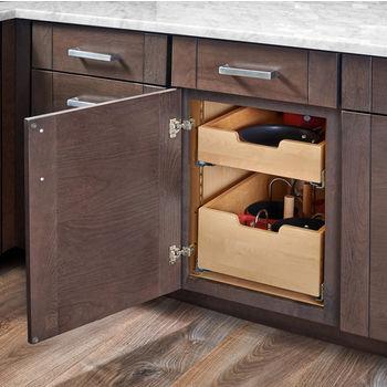 Rev-A-Shelf Base Cabinet Pullout Adjustable Shelf Pilaster System Kit