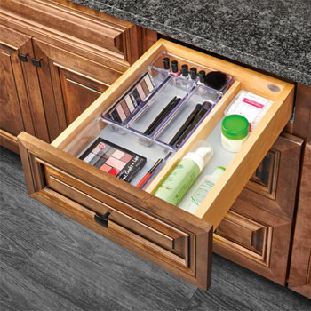 Rev-A-Shelf Single Vanity Drawer, with BLUMOTION Soft-Close Slides