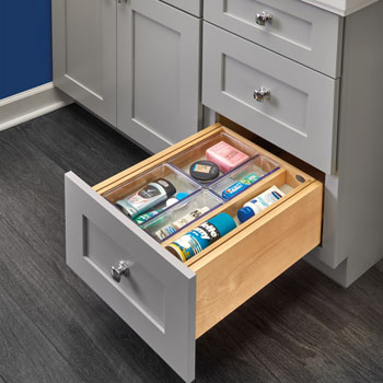Rev-A-Shelf Tiered Double Vanity Drawer