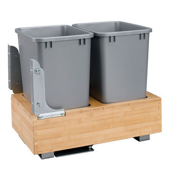 Bottom Mount Double Waste Bins