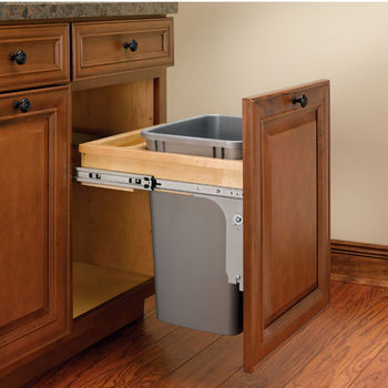 Rev-A-Shelf Top Mount Pull-Out Waste Bins for Framed Cabinet