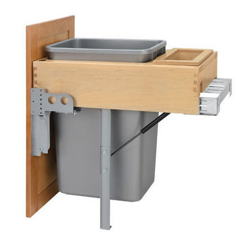Single 50 Qt. Container Pull-Out