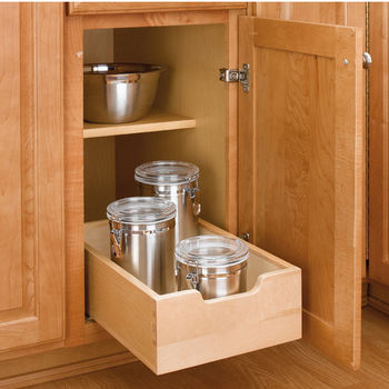 Wood Pull-Out Drawer