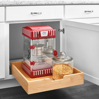 Rev-A-Shelf Single Wood Bottom Mount Pullout Standard Drawer