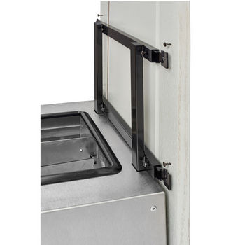 Rev-A-Shelf Single Majestic Chassis with Soft-Close Assist for 74 Quart Waste Container (Not Included), Stainless Steel