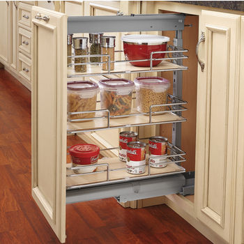 Pull out shelves for pantry