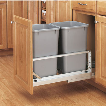 5349 Series Double Bin Pull-Out Waste Containers
