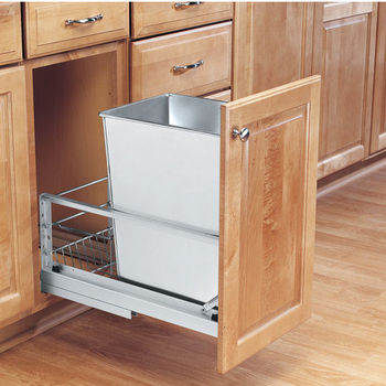 Single Pull-Out Waste Containers