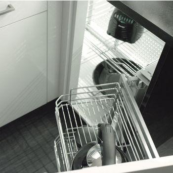 Rev-A-Shelf Organizer for Blind Corner Cabinets with Soft Close Slides