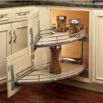 rev a shelf the curve luxury kitchen blind corner unit. Black Bedroom Furniture Sets. Home Design Ideas