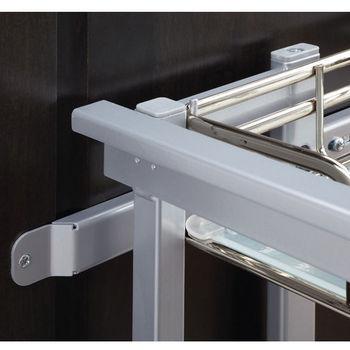 2-Tray Door Mount for Blind Corner Cabinet