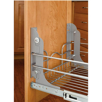 Single Chrome Pull-Out Basket