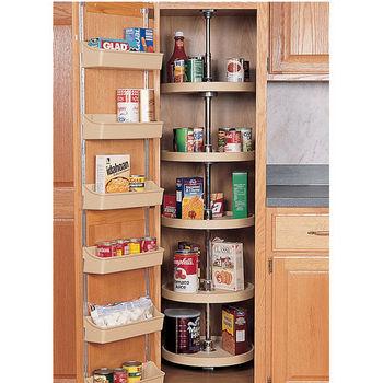 Pantry Cabinet Full Circle 5 Shelf Set