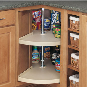 Door-Mount Pie-Cut Lazy Susan