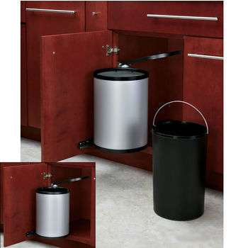 15 Liter Round Stainless Steel Container