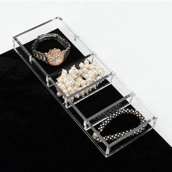 Rev-A-Shelf Clear Acrylic Watch/ Bracelet Jewelry Organizer