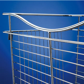 Heavy-Gauge Pull-Out Wire Basket