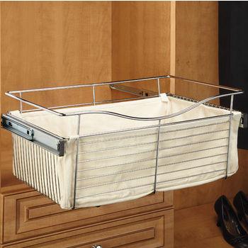 Rev-A-Shelf Black Closet Liner for Closet Basket in Tan