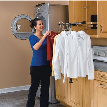 Rev A Shelf Garment Rods Lifts Amp Rails Closet