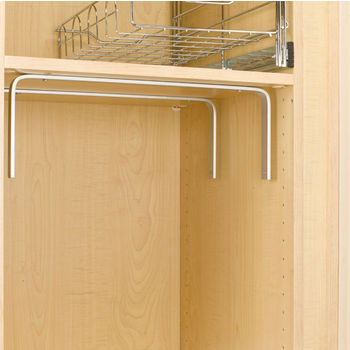 "Rev-A-Shelf Top Mount Bracket Set for 18"" to 30'' Width CB Series Wire Basket"