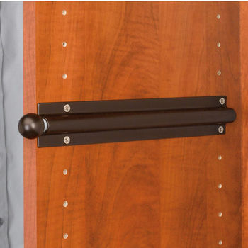 Standard Valet Rod Oil Rubbed Bronze Finish