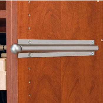 Standard Valet Rod Satin Nickel Finish