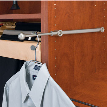 Rev-A-Shelf Designer Series Valet Rod Satin Nickel Finish