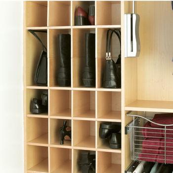 Rev A Shelf Wood Storage For Closet Accessories