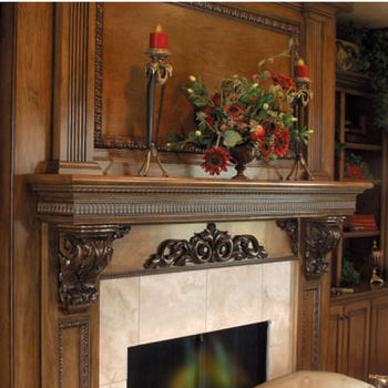 White River Large & Medium Acanthus Corbels