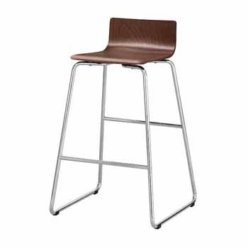 """Safco Bosk® Bistro Height Stool, Cherry, 20-3/4""""W x 20-1/2""""D x 35""""H"""