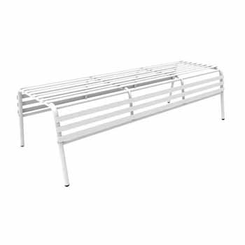 Remarkable Cogo Steel Outdoor Indoor Bench Backless In Multiple Pabps2019 Chair Design Images Pabps2019Com