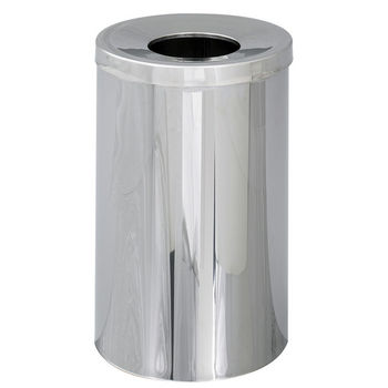 Safco®  Reflections 35-Gallon Open Top Trash Can