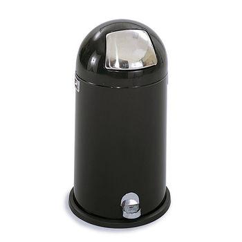 Safco® 12-Gallon Dome Step-On Trash Can