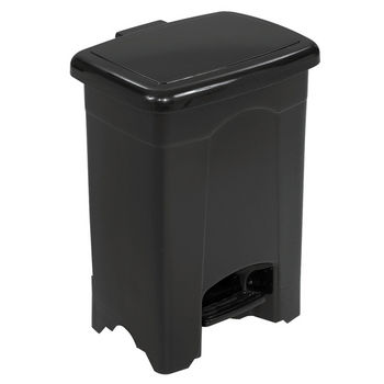 Safco® 4-Gallon Plastic Step On Trash Can