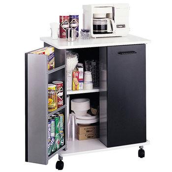 Safco Steel Refreshment Kitchen Cart
