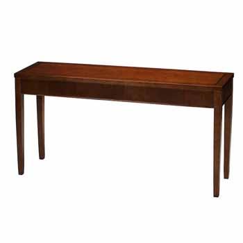 "Safco Sorrento Sofa Table, Bourbon Cherry Veneer, 16""W x 60""D x 30""H"