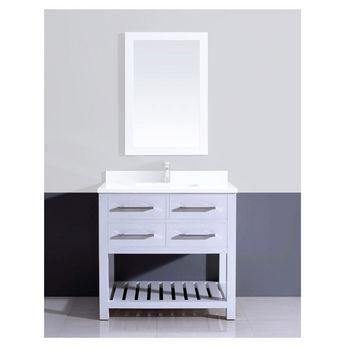 Dawn Sinks Bathroom Vanities and Sink Cabinets | KitchenSource.com