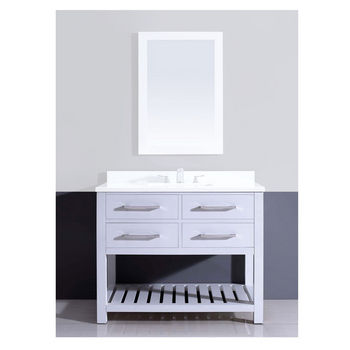 60 Inch White Vanity Base freestanding bath vanities in handcrafted, traditional, modern